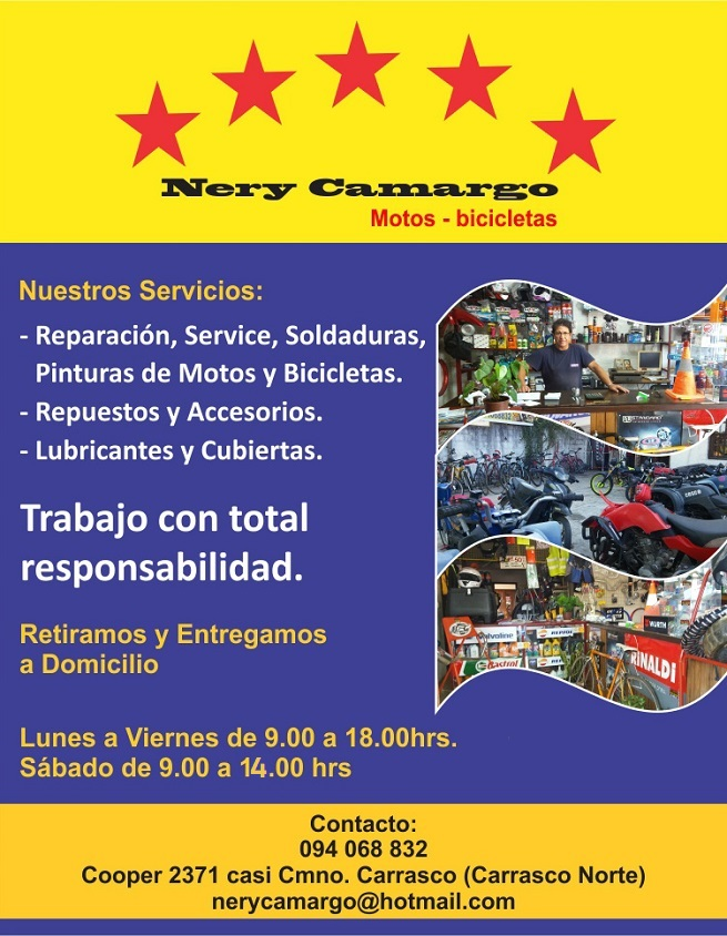 taller motos bicicletas carrasco